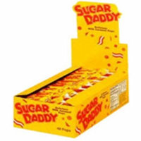 4 Pack - Charms Sugar Daddy Pops 1 ea [case of 48]