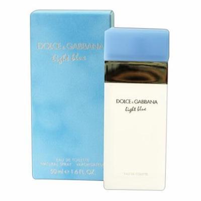 Dolce And Gabbana Light Blue For Women Eau De Toilette Spray - 1.7 Oz