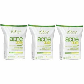 Alba Botanica Natural Acne-dote, Acne Medication, Clean 'n Treat, Maximum Strength Daily Cleaning...