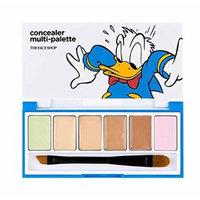 The Faceshop Disney Concealer Multi-Palette 6g-Donald Duck