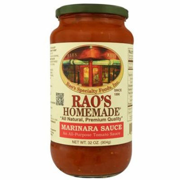 Rao's Homemade All Natural Pasta Sauce Marinara -- 32 oz pack of 1