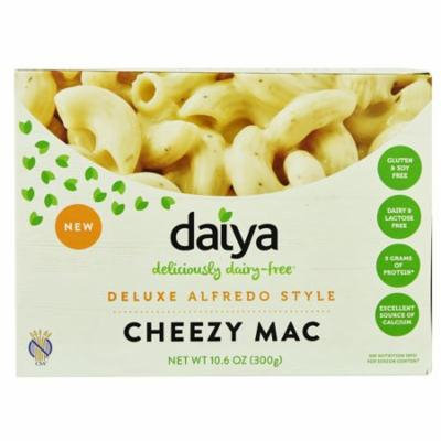 Daiya Cheezy Mac Deluxe Dairy Free Alfredo Style -- 10.6 oz pack of 12