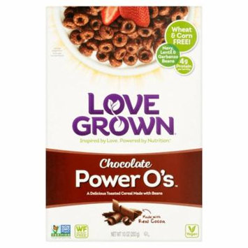 Love Grown Power O's Chocolate Cereal, 10 oz, 6 pack