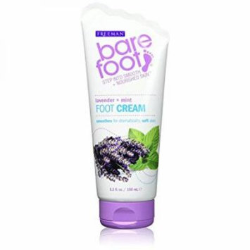 Bare Foot Cream, Lavender + Mint, 5.3 Fluid Ounce