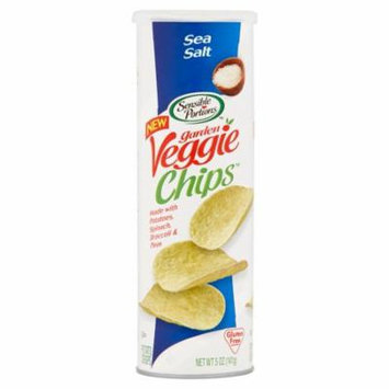 Sensible Portions Garden Veggie Chips Sea Salt Potato Chips, 5 oz, 12 pack