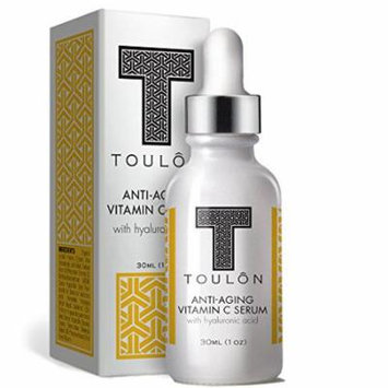 Vitamin C Serum with Hyaluronic Acid for Face; Reduce Fine Lines & Sun Spots; Natural and Organic: Free Gift/No Risk
