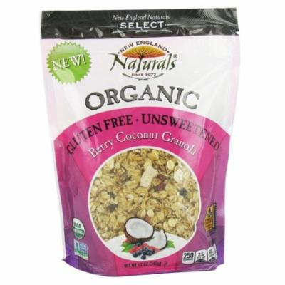 New England Naturals - Organic Granola Select Berry Coconut - 12 oz(pack of 4)