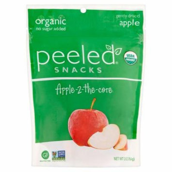 Peeled Snacks Apple-2-the-Core Gently Dried Apple, 2.8 oz, 12 pack