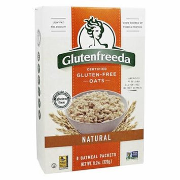 Glutenfreeda - Instant Oatmeal Natural - 8 Packet(s)(pack of 12)