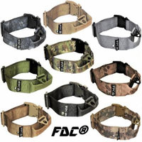 HEAVY DUTY Military Army Tactical Dog Collar HANDLE Width 1.5in Plastic Buckle with TAG HOLE sz XXL: Neck 20