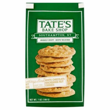 Tate's Bake Shop White Chocolate Macadamia Nut Cookies, 7 oz, 6 pack