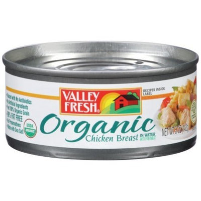 PACK OF 16 - Valley Fresh Organic Chicken Breast, 5 oz
