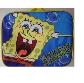 Fab/starpoint Nickelodeon Spongebob Squarepants Soft Lunch Box Insulated Bag Lunchbox