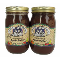 Amish Wedding Foods Apple Butter Old Fashioned 2 - 18oz Jars