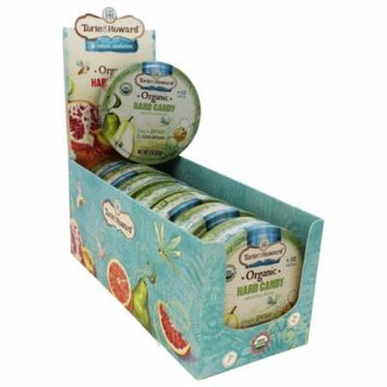 Torie & Howard - Organic Hard Candy D'anjou Pear & Cinnamon - 2 oz(pack of 4)