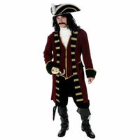 Plus Size Deluxe Captain Hook Costume