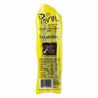 Primal Strips - Meatless Vegan Jerky Soy Texas BBQ Flavor - 1 oz(pack of 4)