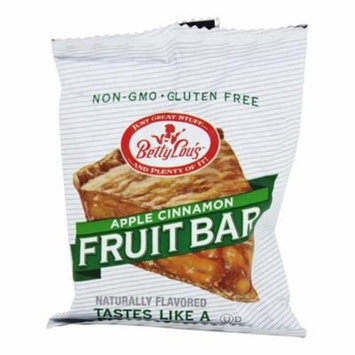Betty Lou's - Fruit Bars Gluten Free Apple Cinnamon - 2 oz(pack of 6)