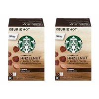 Starbucks Hazelnut K-Cup for Keurig Brewers, 20 Count