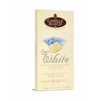 Swiss White Milk Chocolate Bar - Pack of 6