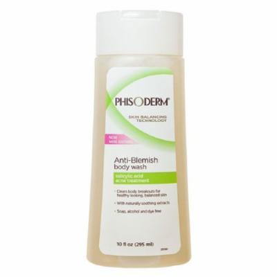 Phisoderm Anti-Blemish Acne Body Wash - 10 Oz