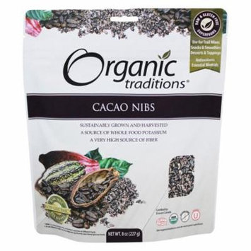 Organic Traditions - Cacao Nibs - 8 oz(pack of 1)
