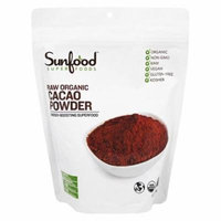 Sunfood Superfoods - Organic Raw Cacao Powder - 8 oz(pack of 6)