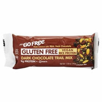 NuGo Nutrition - Gluten Free Bar Dark Chocolate Trail Mix - 1.59 oz(pack of 4)