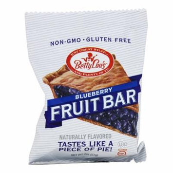 Betty Lou's - Fruit Bars Gluten Free Blueberry - 2 oz(pack of 4)