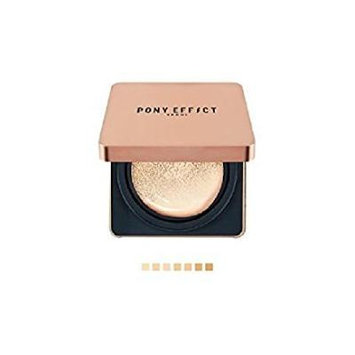 Pony Effect Cover Stay Cushion Foundation + Refill (SPF50+ PA+++) Matte Ice Effect (#22 Nude Beige)