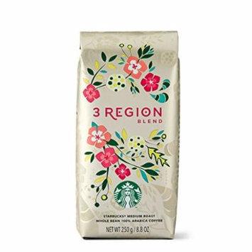 2017 Starbucks 3 Region Blend Whole Bean Coffee