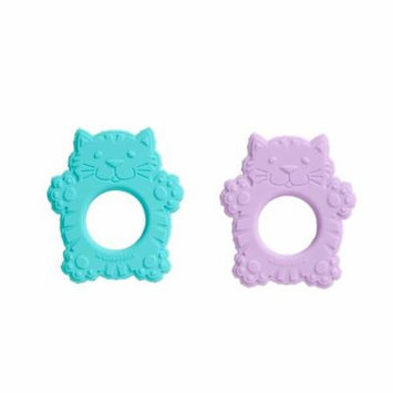 SugarBooger Silicone Teether Set/2 Fluffy Cat