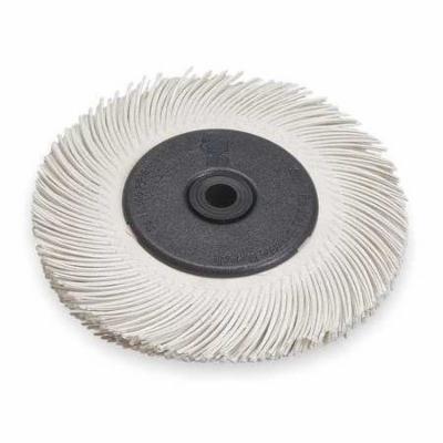 SCOTCH-BRITE Radial Bristle Brush,T-C,6Diax7/16W,120 61500187747