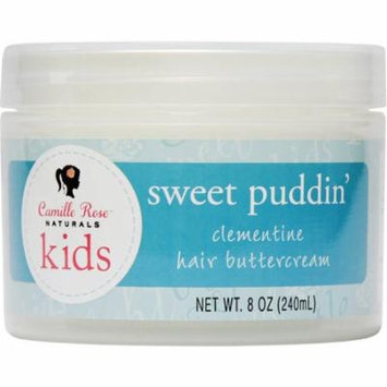 Camille Rose Natural Sweet Puddin' Clementine Hair Buttercrea