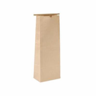 1 Unit 5 lb Kraft Tin Tie Bags 6-1/2