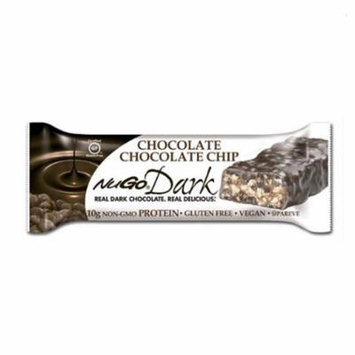 NuGo Dark Chocolate Chocolate Chip 1.76 Oz Bar - Pack of 12