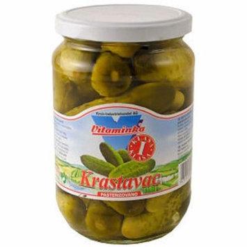 Pickled Cucumbers, Krastavac (Vitaminka) 670g