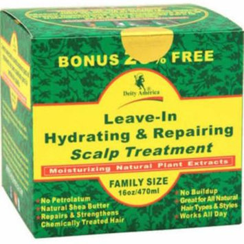 Deity America Leave-In Hydrating & Repair Scalp Treat, 16 oz (Pack of 4)