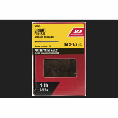 Ace Countersunk 2-1/2 in. L Finishing Nail Bright 1 lb.