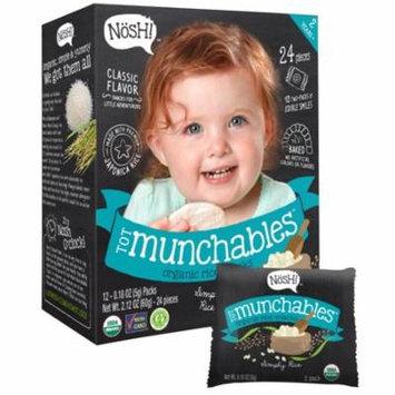 Nosh Tot Munchables Simply Rice Organic Rice Snacks Classic Flavor