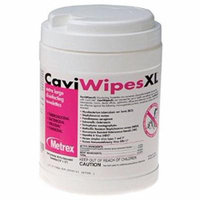 Caviwipes Surface Disinfectant Premoistened, Manual Pull Canister, Box of 66, 4 Pack (264 Total)