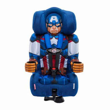 Kidsembrace Captain America Booster Car Seat, Blue Red, One Size