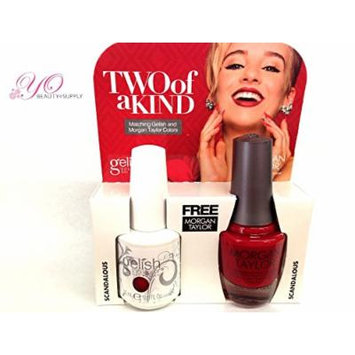 Gelish Two of a Kind Scandalouss. Receive Free Harmony Nourish Cuticle Oil .5 Oz