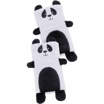On the Goldbug Car Seat Strap Cover, Panda