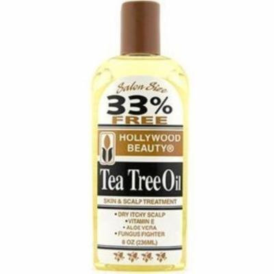 6 Pack - Hollywood Beauty Tea Tree Oil Skin & Scalp Treatment, 8 oz