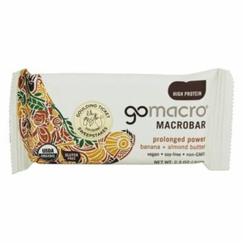GoMacro - MacroBar Prolonged Power Banana & Almond Butter - 2.3 oz(pack of 6)