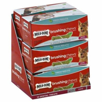 Milk-Bone Brushing Chews Fresh Breath Daily Dental Dog Treats