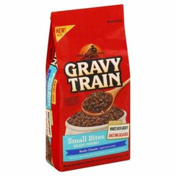 Gravy Train Small Bites Beefy Classic Dry Dog Food, 3.5-Pound Bag