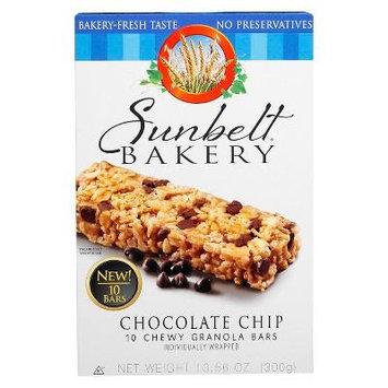 Sunbelt Bakery Chocolate Chip Chewy Granola Bars, 10 count (1 box)