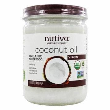 Nutiva - Coconut Oil Organic Virgin - 14 oz(pack of 4)